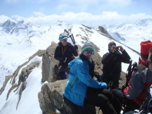 sommet du Taou blanc 3438m