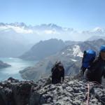 Emosson et le massif du Mt Blanc